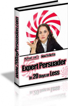 Ebook cover: How To Be An Expert Persuader