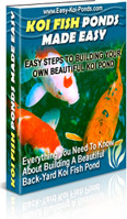 Ebook cover: Koi Fish Pond Construction Made Easy