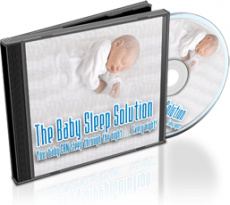 Ebook cover: The Baby Sleep Solution