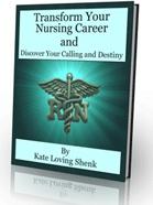 Ebook cover: Transrofm Your Nursing Career