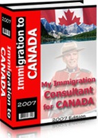 Ebook cover: Immigration to CANADA