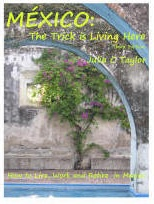 Ebook cover: Mexico: The Trick is Living Here