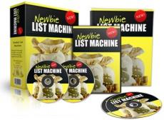 Ebook cover: Newbie List Machine