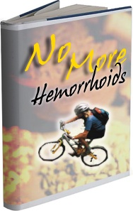 Ebook cover: No More Hemorrhoids
