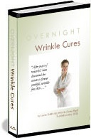 Ebook cover: Overnight Wrinkle Cures