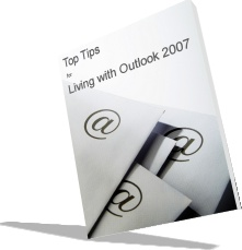 Ebook cover: Living with Outlook 2007