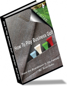 Ebook cover: How To Play Business Golf
