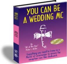 Ebook cover: You Can Be A Wedding MC