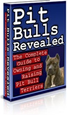 Ebook cover: Pit Bulls Revealed