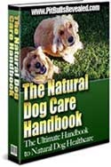 Ebook cover: The Natural Dog Care Handbook