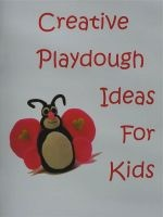 Ebook cover: Creative Playdough Ideas For Kids