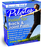 Ebook cover: Pilates: Relief for Back & Joint Pain