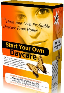 Ebook cover: Start You Own Daycare