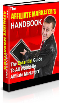 Ebook cover: Affiliate Marketer's Handbook