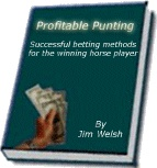 Ebook cover: Profitable Punting