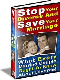 Ebook cover: Stop Your Divorce and Save Your Marriage!