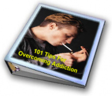 Ebook cover: 101 Tips For Overcoming Addiction