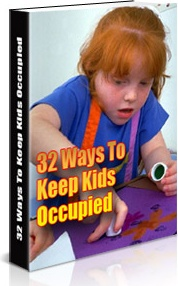 Ebook cover: 32 Ways to Keep the Kids Occupied