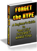 Ebook cover: Forget The Hype