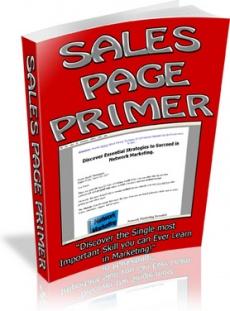 Ebook cover: Sales Page Primer