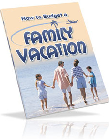 Ebook cover: How to Budget a Family Vacation