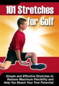 Ebook cover: 101 Stretches for Golf