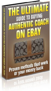 Ebook cover: The Ultimate Guide for Buying Authentic COACH on Ebay