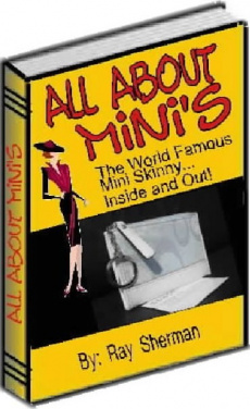 Ebook cover: All About Mini's