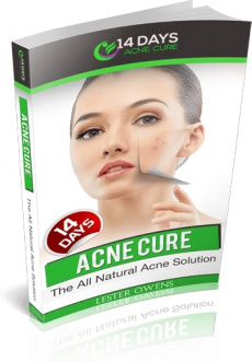 Ebook cover: 14 Days Acne Cure