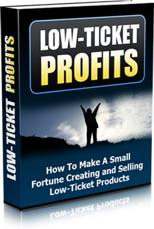 Ebook cover: Low-Ticket Profits