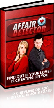 Ebook cover: Affair Detector Find Out If Your Lover Is Cheation On You