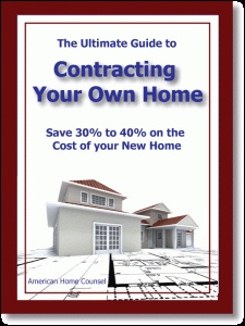 Ebook cover: Contraction Your Own Home