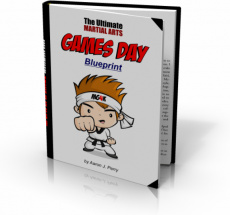 Ebook cover: Martial Games for Kids