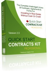 Ebook cover: The Quick Start Contracts Kit Professional