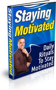 Ebook cover: Staying Motivated