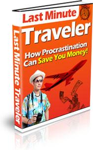 Ebook cover: Last Minute Traveler