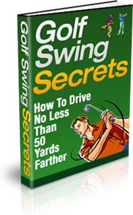 Ebook cover: Golf Swing Secrets