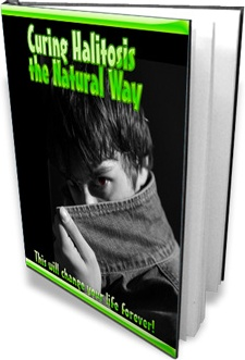 Ebook cover: Curing Halitosis the Natural Way