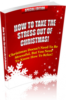 Ebook cover: How To Take The Stress Out Of Christmas!