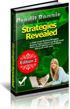 Ebook cover: Credit Repair Strategies Revealed