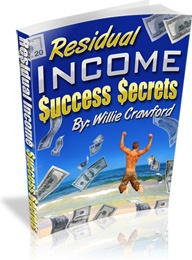 Ebook cover: Residual Income Success Secrets