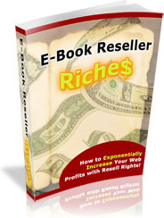 Ebook cover: EBook Reseller Riches