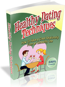 Ebook cover: Healthy Dating Techniques