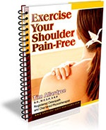 Ebook cover: Exercise Your Shoulder Pain-Free