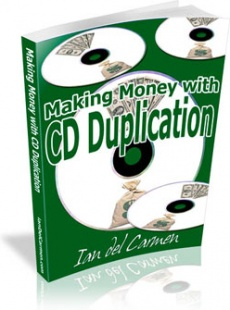 Ebook cover: Making Money With CD Duplication
