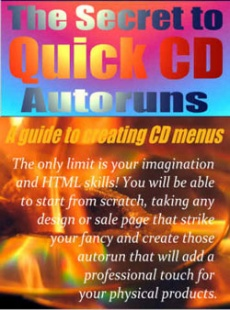 Ebook cover: The Secret To Quick CD Autoruns