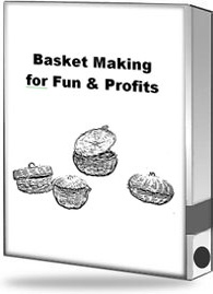 Ebook cover: Basket Making for Fun & Profits