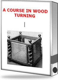Ebook cover: A Course in Wood Turning