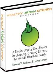 Ebook cover: Healthy Urban Kitchen Cookbook