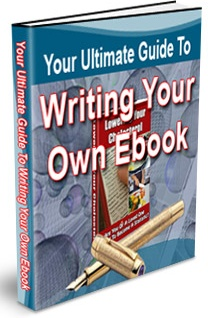 Ebook cover: The Ultimate Guide To Writing Your Very Own E-book